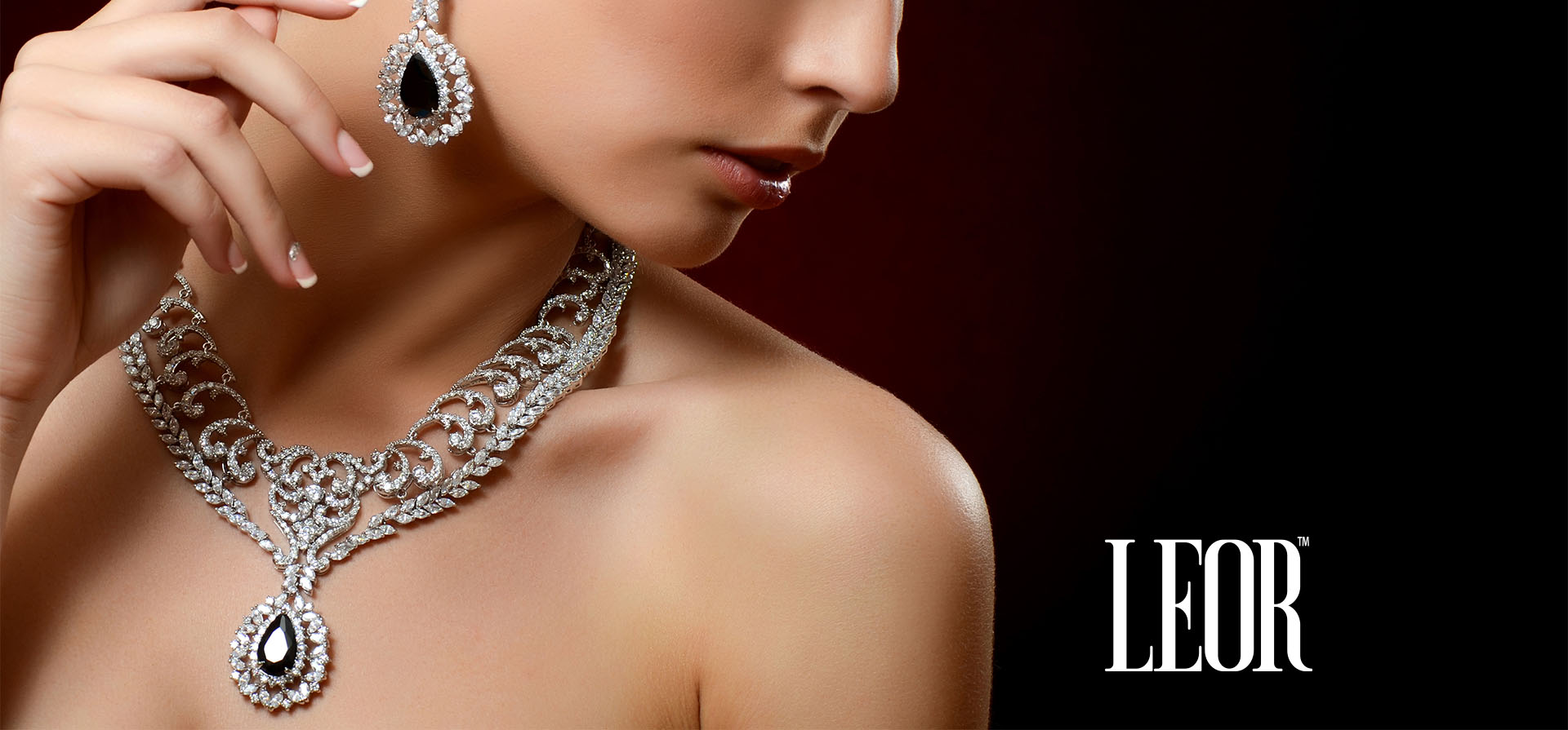 LEOR Jewelry Store Logo Design