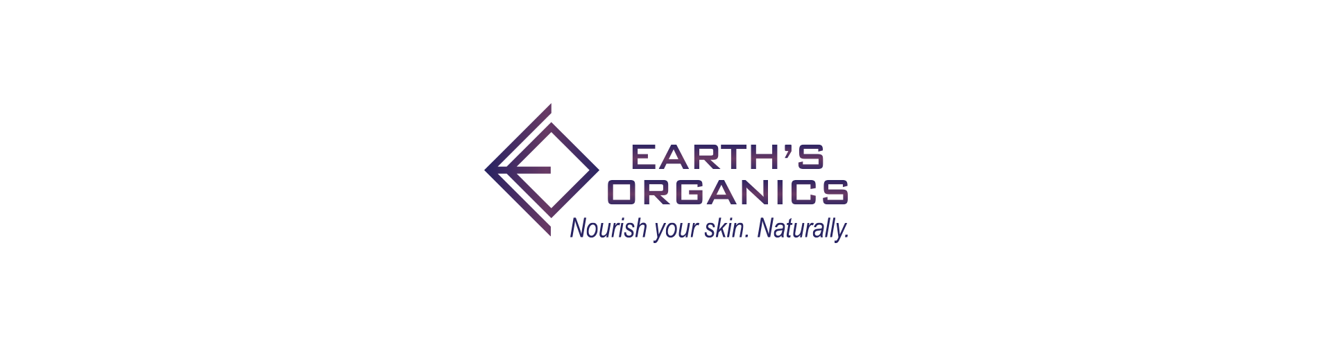 Horizontal logo with slogan