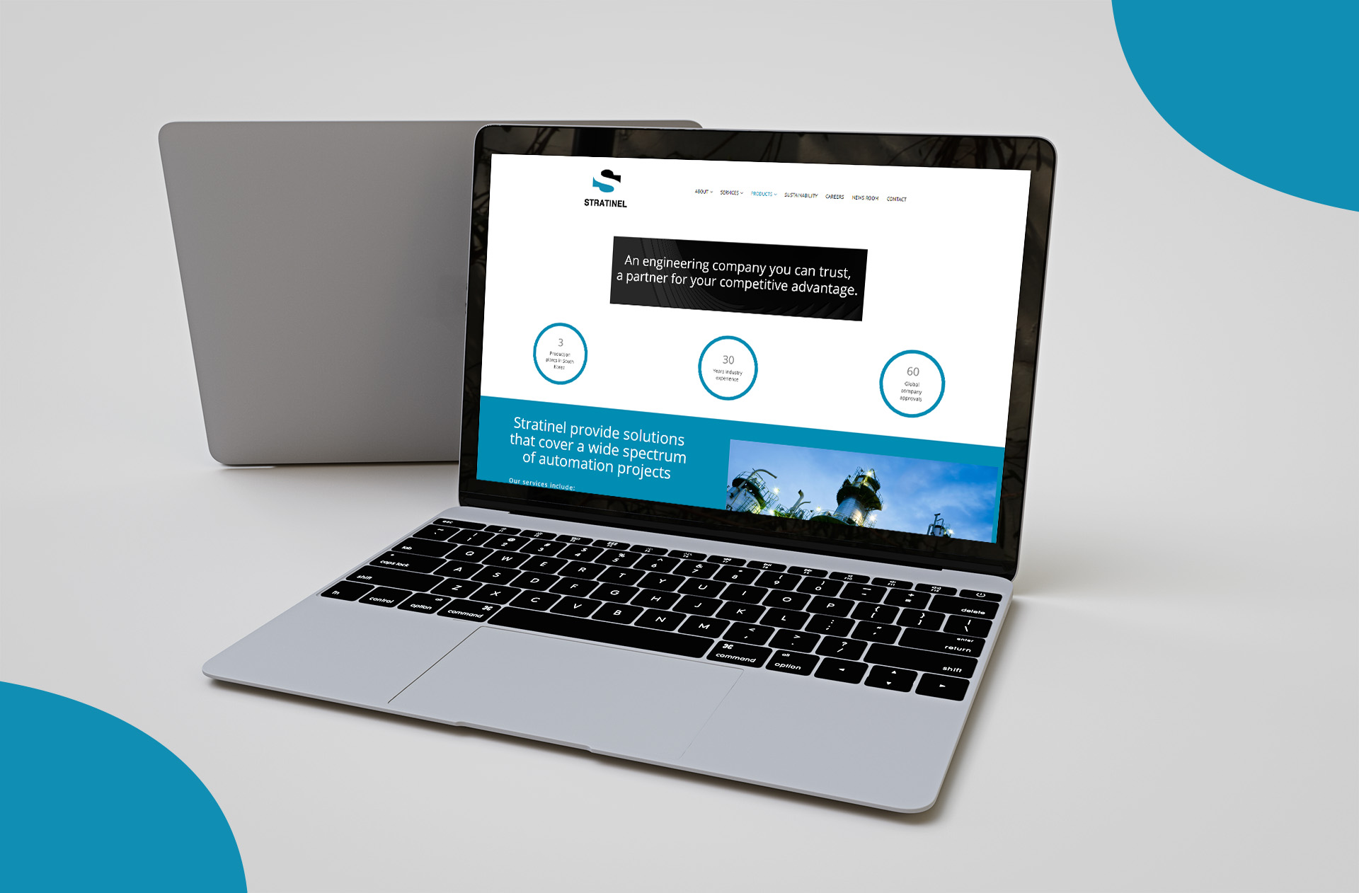 Oil and Gass Company - website design