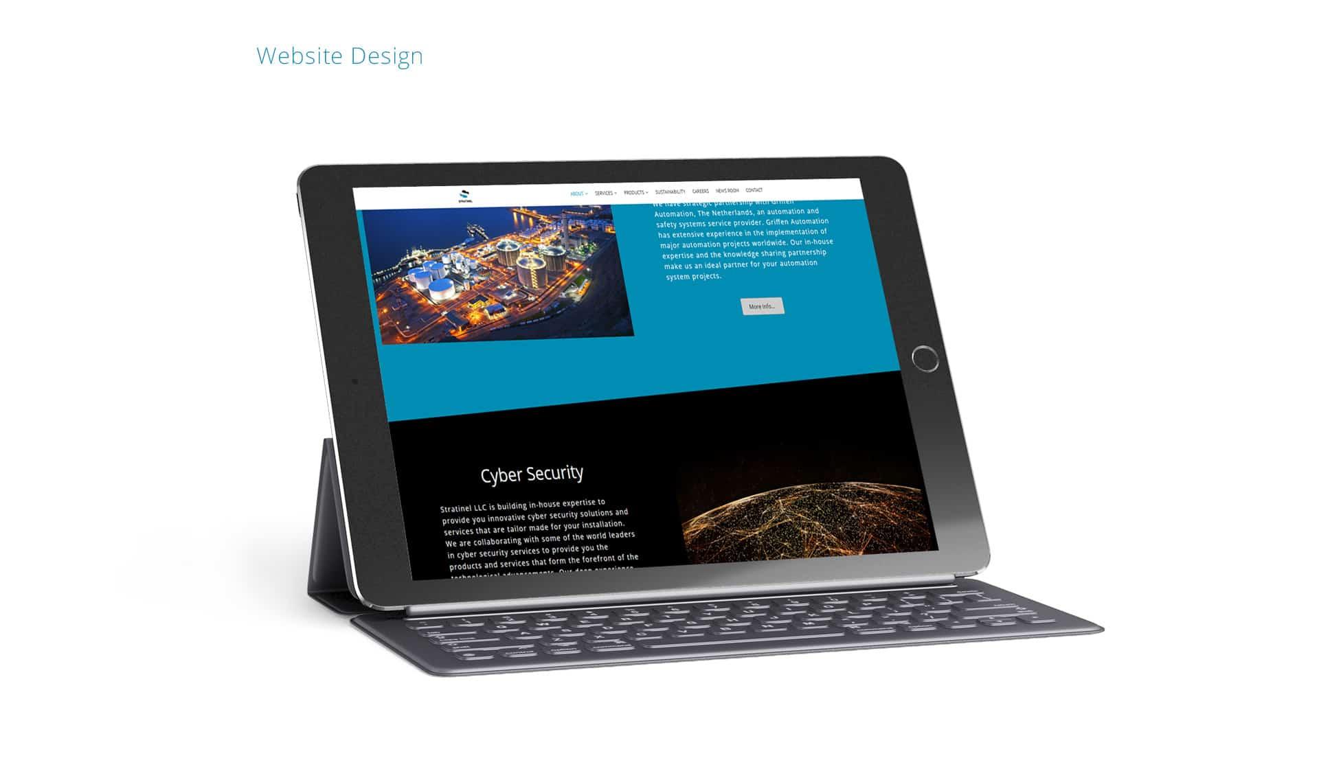 Web Design for a company
