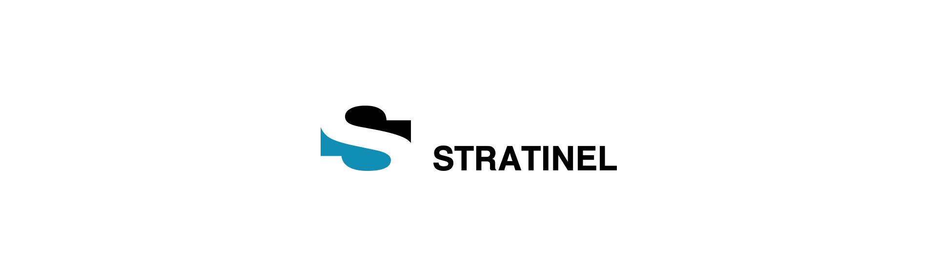Stratinel logo design - engineering company