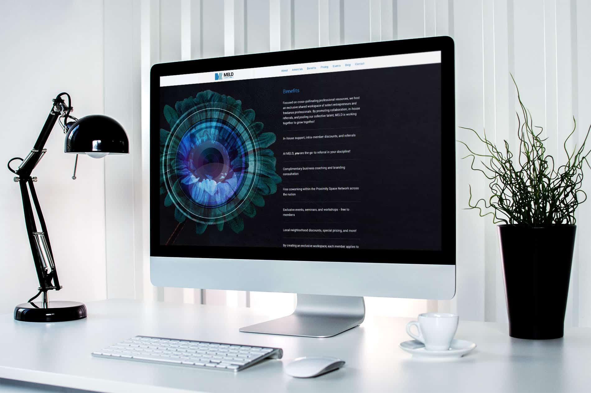 Website Design Landing Page Benefits