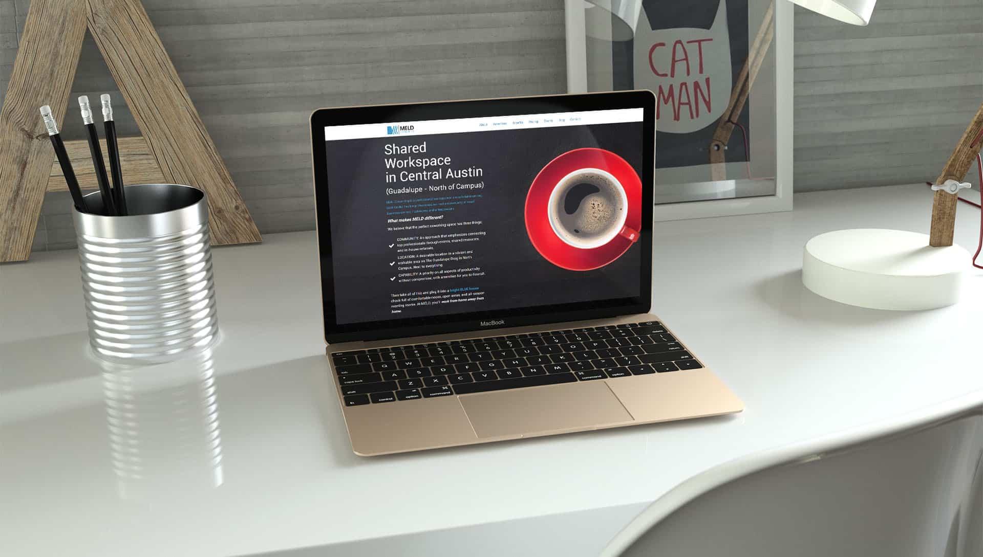 Shared Workspace In Central Austin Website Design