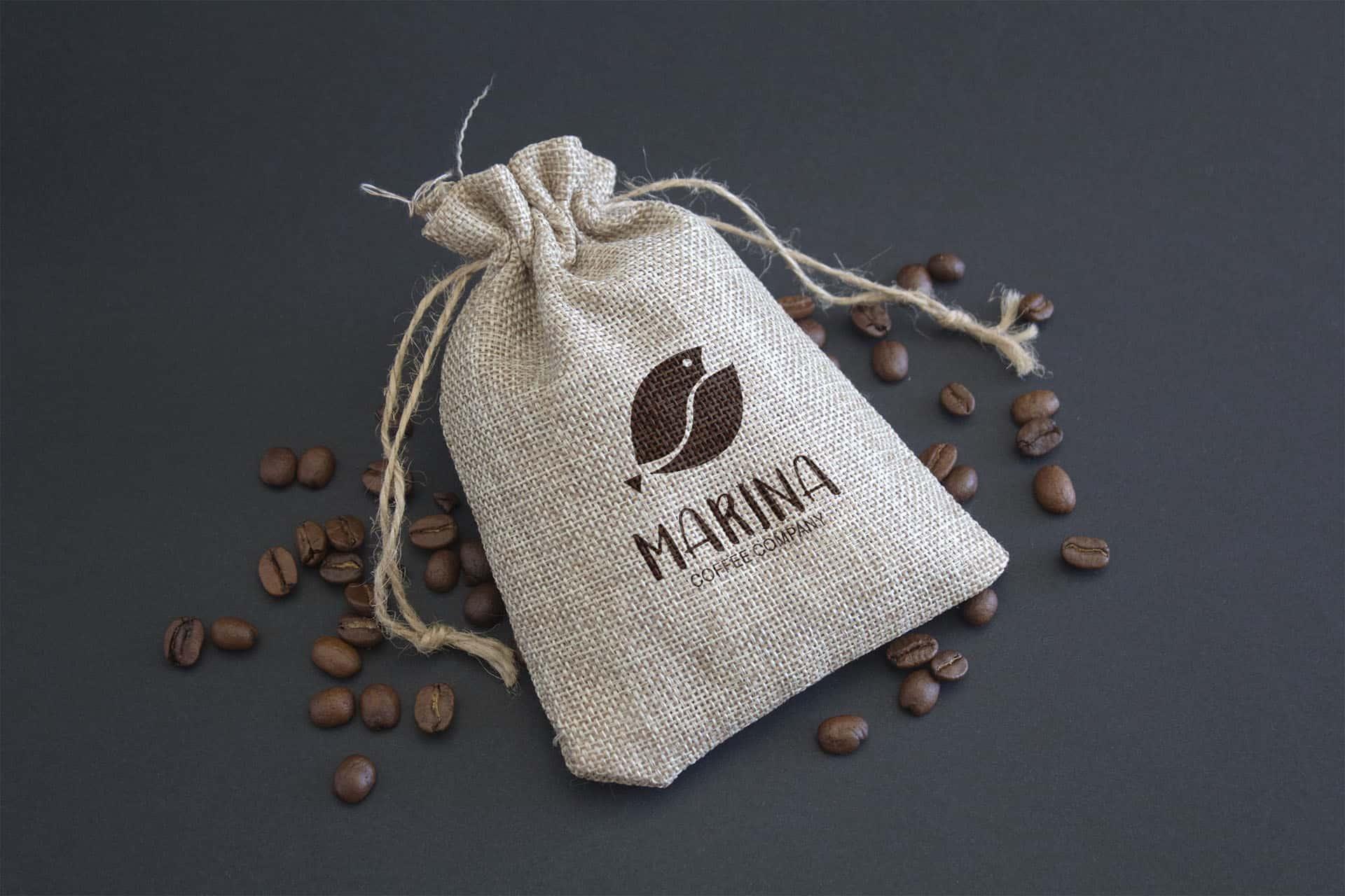 Coffee bean bag
