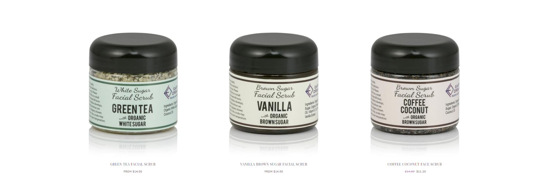Earth's Organics facial