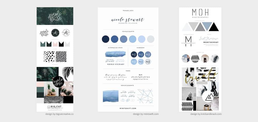 Brand Board design