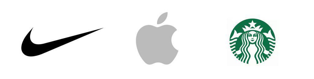 nike apple starbucks logos