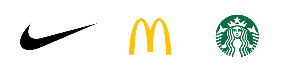 Nike-Mc-Donalds-Starbucks-logo-design