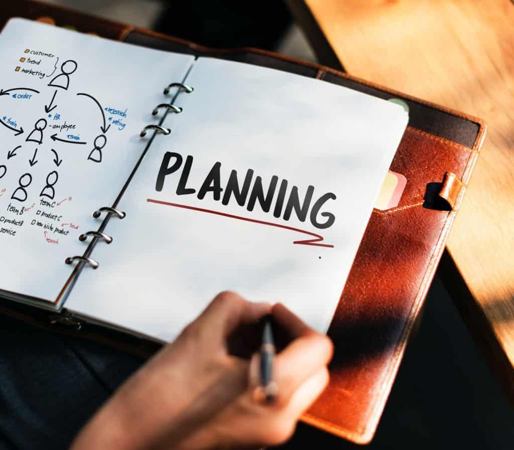Planning branding