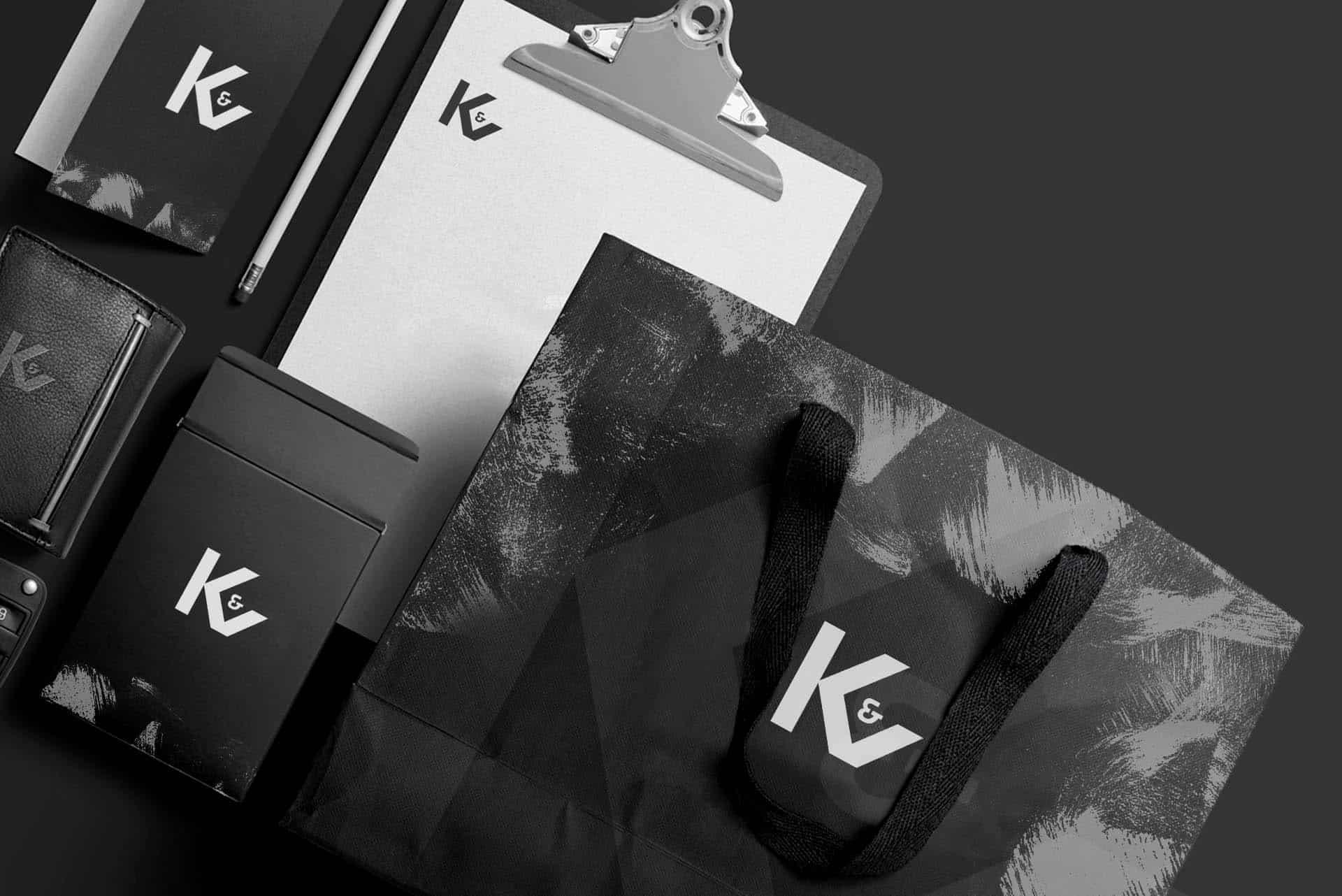 Stationery design branding