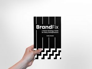 BrandFix Front Cover 3D with a Hand 2