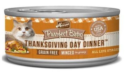 Merrick Thanksgiving Cat Food