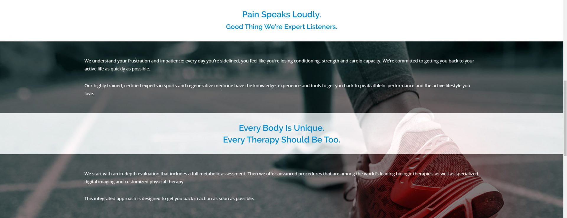 Hospital and clinic website design and programming