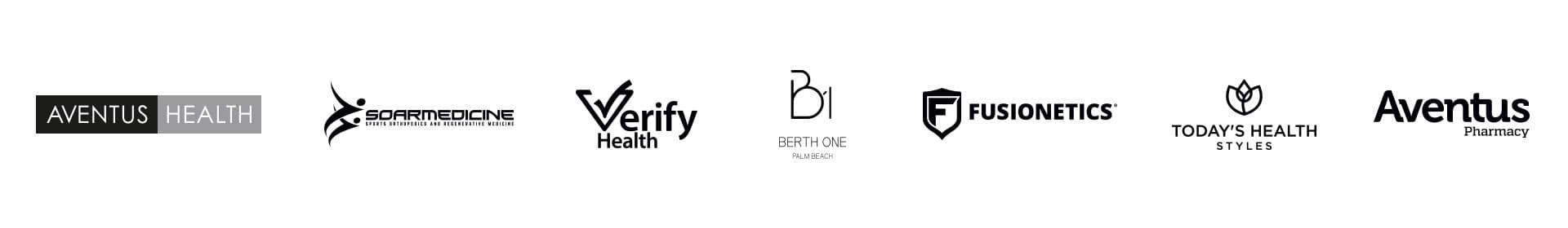 Logos for the website Health & Wellness