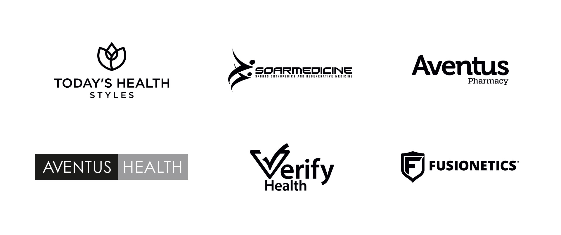 Logos for the website MOBILE health and wellness
