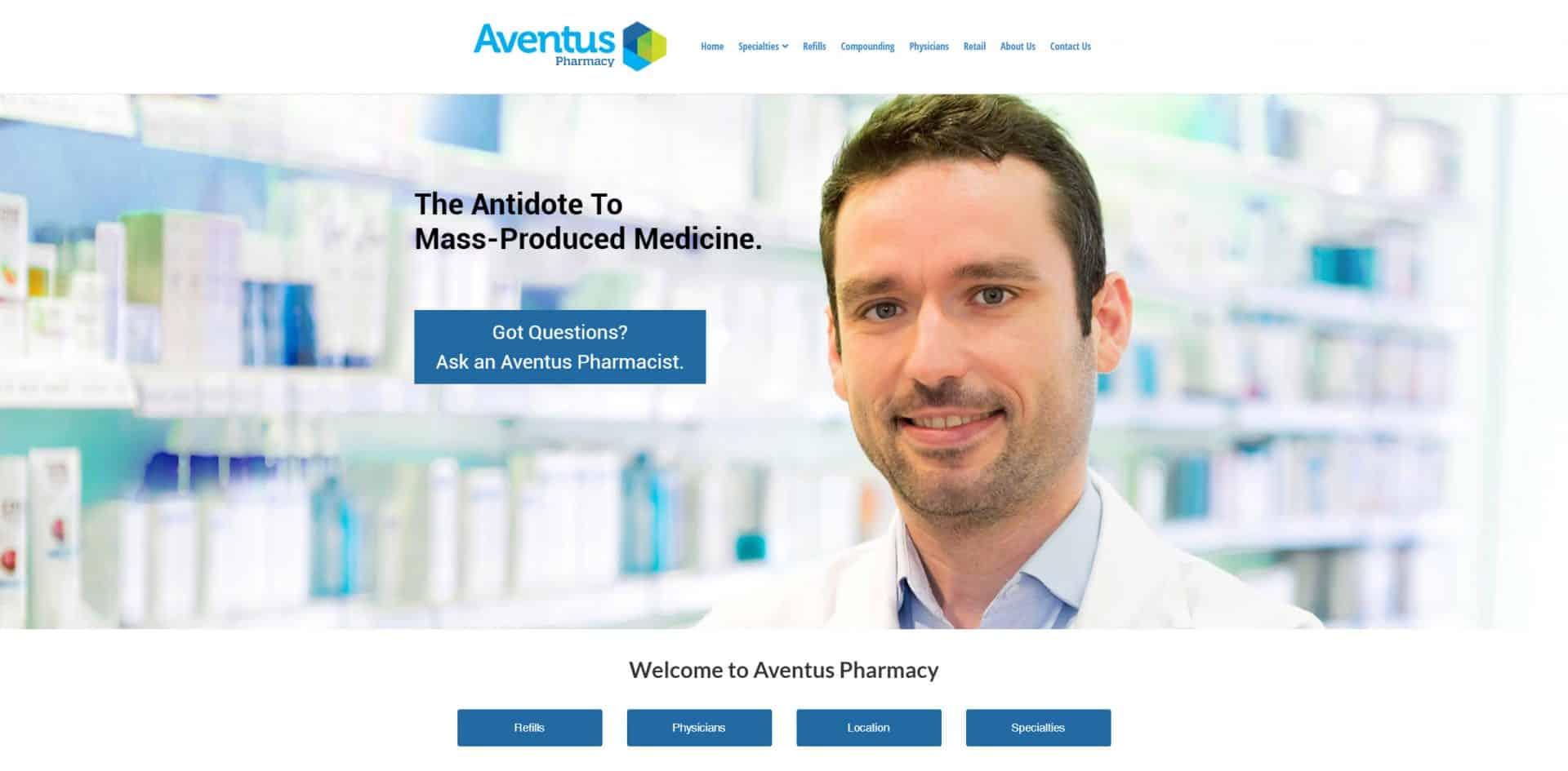 Pharmacy branding design