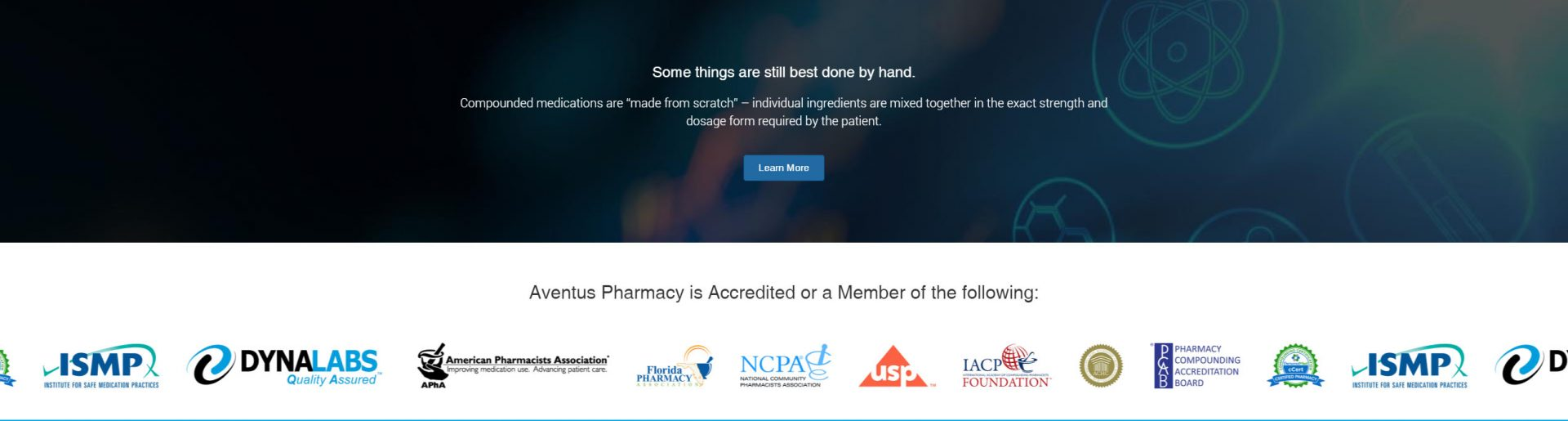 pharmacy home page design print screen 2