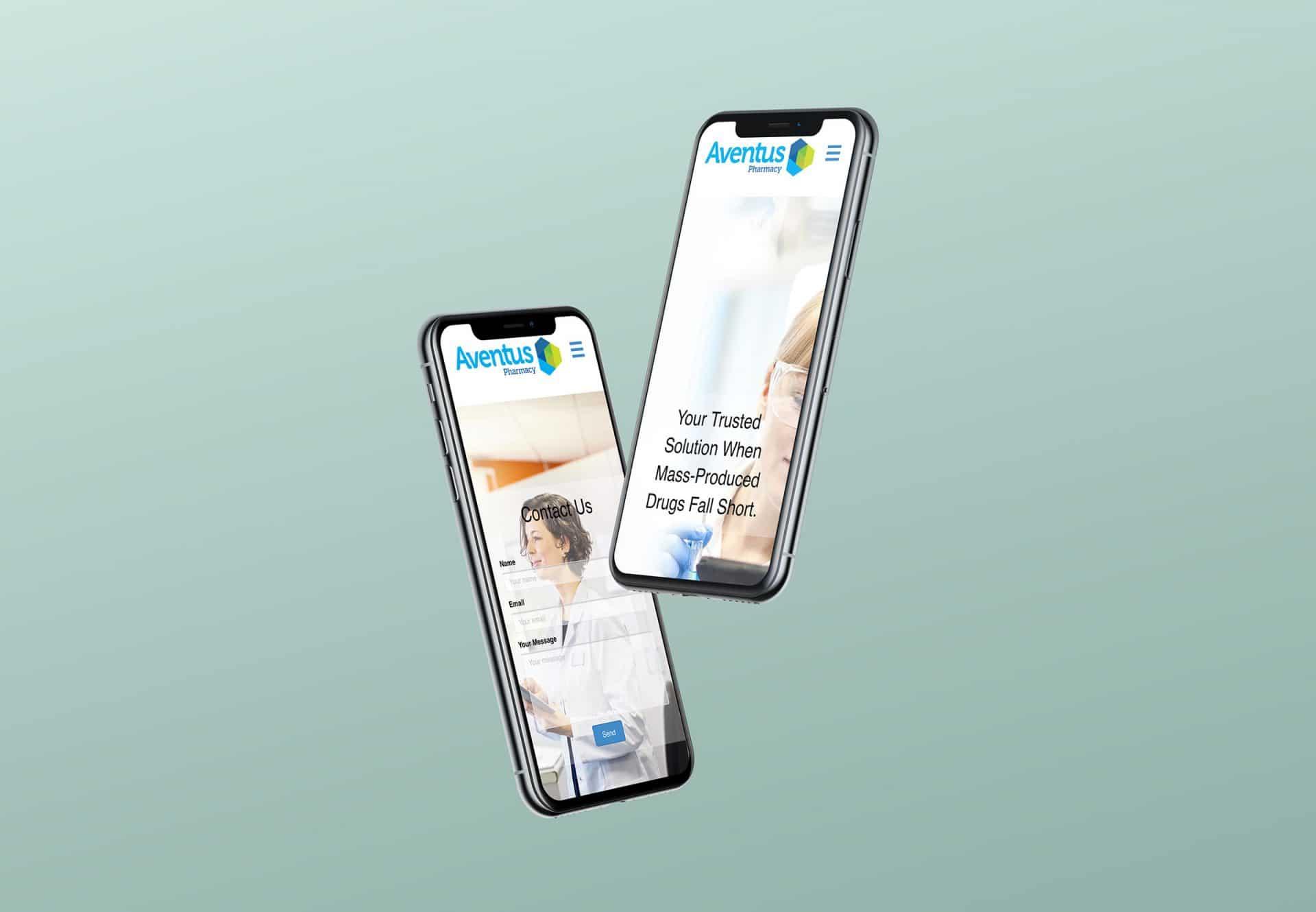 Health company mobile design