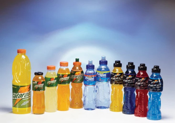 sports drink labels