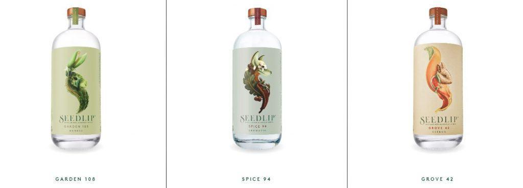 seedlip non alcoholic beverage branding