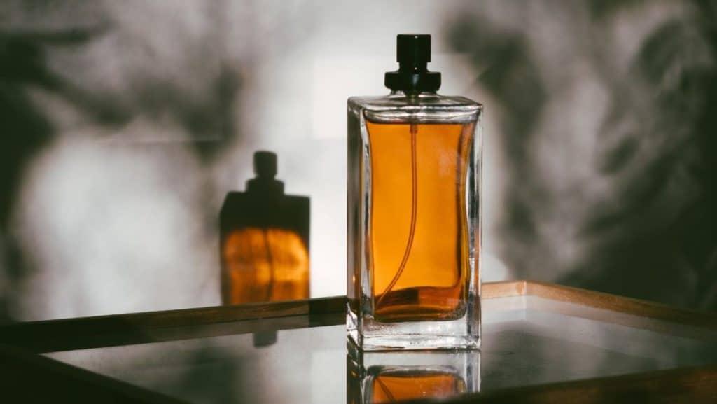 perfume brand in rectangle bottle