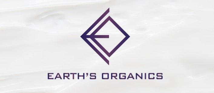 earth's organics logo rebrand