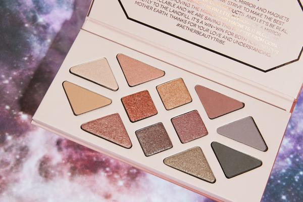 aether beauty recyclable eyeshadow palette