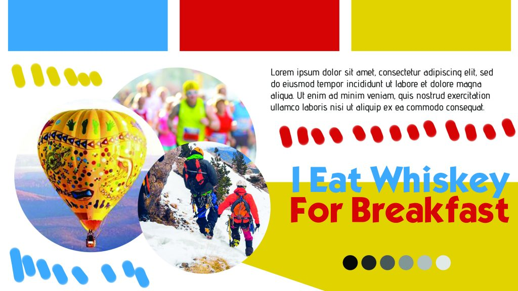 mood board stylescape for granola business